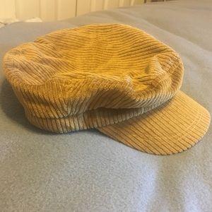 e55a93cea GIGI PIP Baker Boy Tan Corduroy Hat